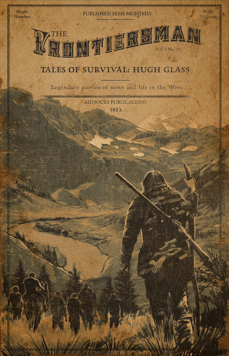 "La historia real de Hugh Glass, ""el renacido"""