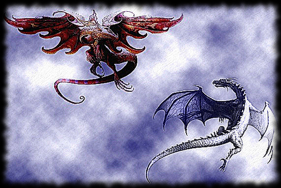 Dragon Rojo contra Dragon Blanco